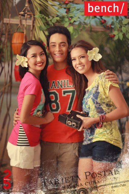 Cute Friday: Kathryn, Diego and Julia for Bench | Random ...