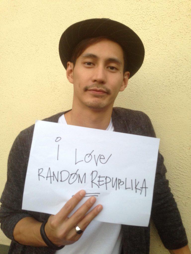 AJ Dee loves Random Republika