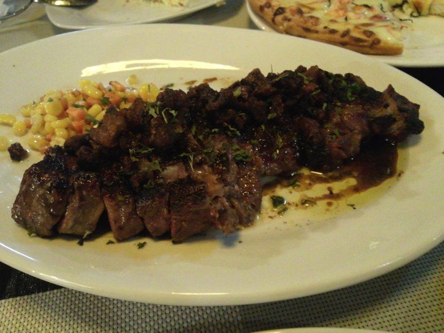 CAB USDA Ribeye Steak with Rice