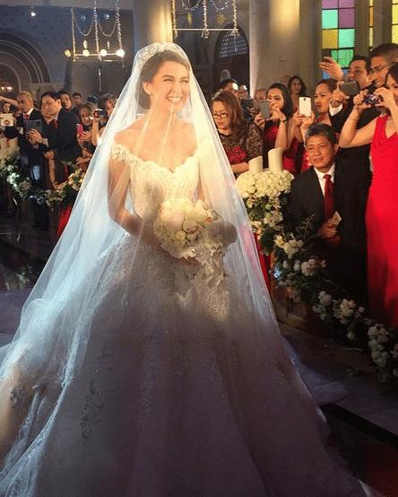 Marian Rivera wedding gown Michael Cinco 5