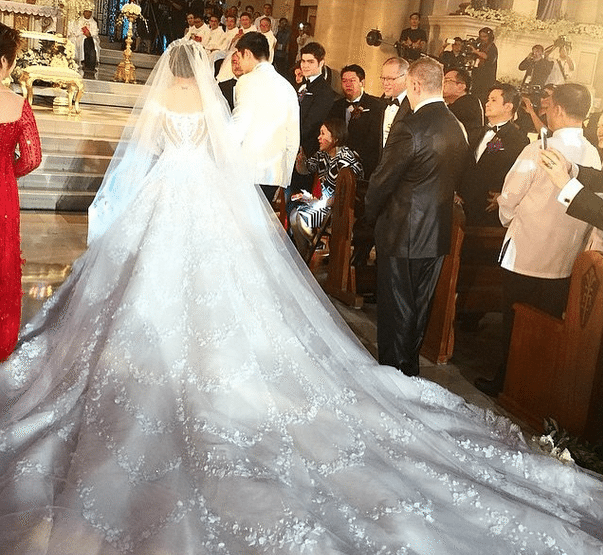 Marian Rivera wedding gown Michael Cinco 6