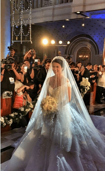 JUST IN: Marian Rivera's Wedding Gown by Michael Cinco # ...