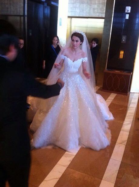 Marian Rivera wedding gown Michael Cinco