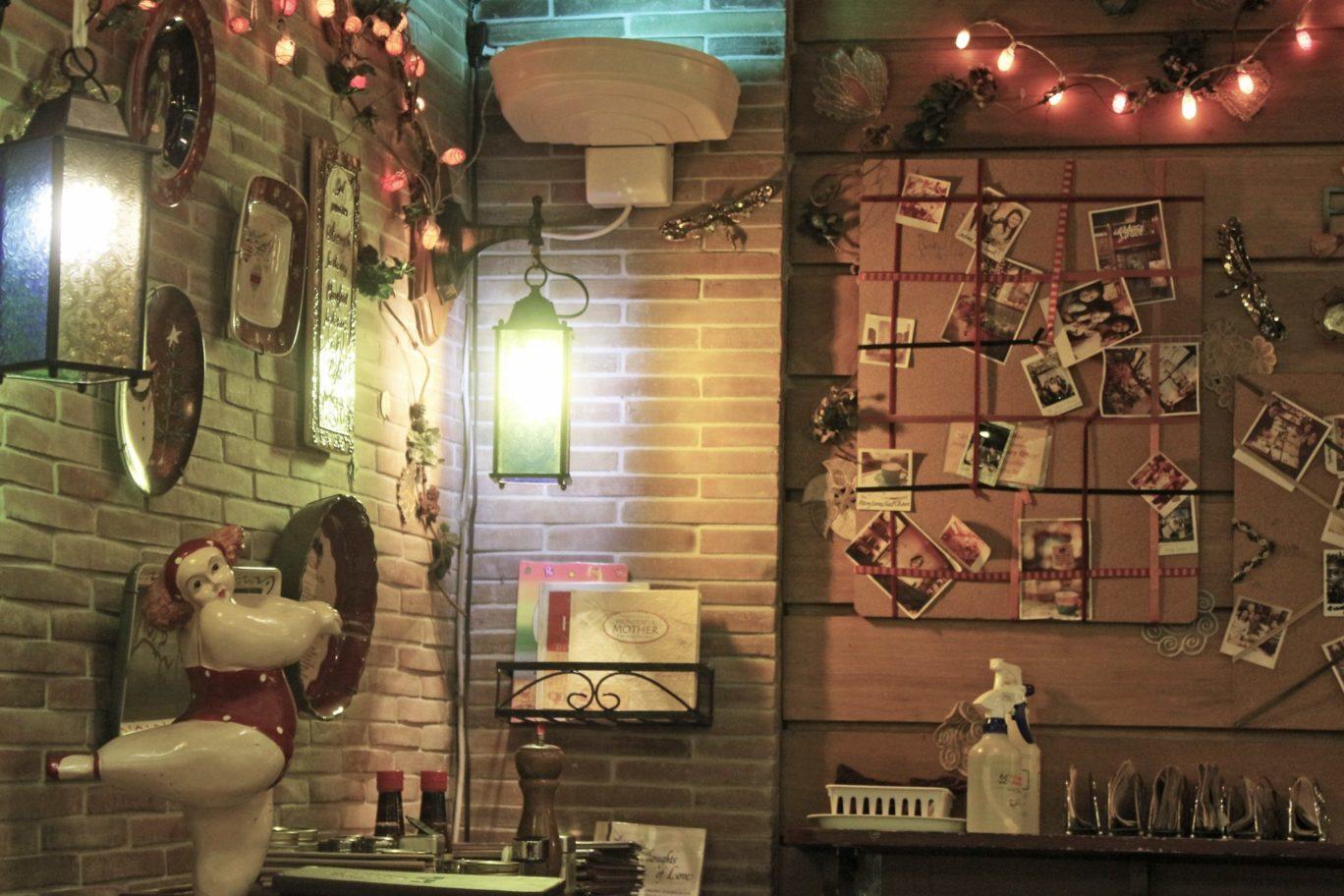 Wall Decor at Cafe Mary Grace, Greenbelt Makati