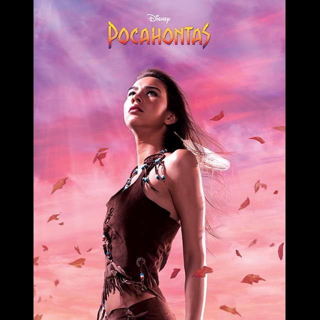 Tori as Pocahontas