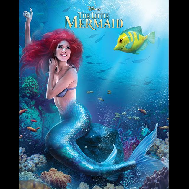 Proud as Ariel