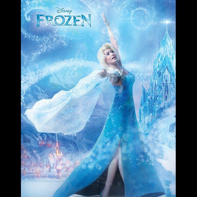 Malaysia's Marsha Milan as Elsa