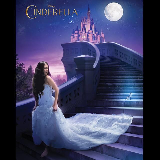 Indonesia's Sandra Dewi as Cinderella