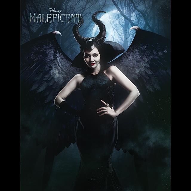 Thailand's Gam Gavintra as Maleficent