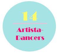 Artista Dancers logo