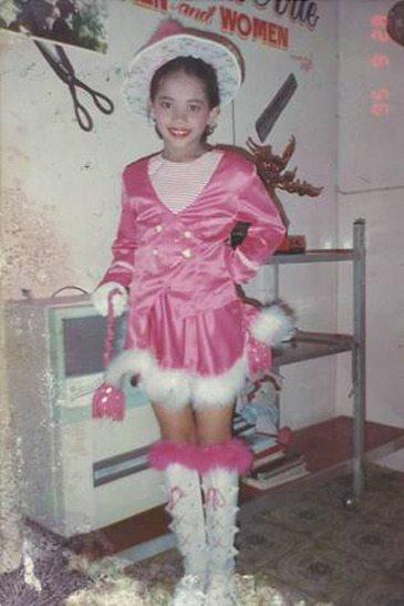 Mary Jean Lastimosa when she was still a kid