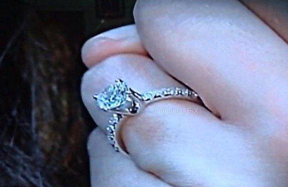 Tonilex engagement ring Toni Gonzaga 1.5 carat