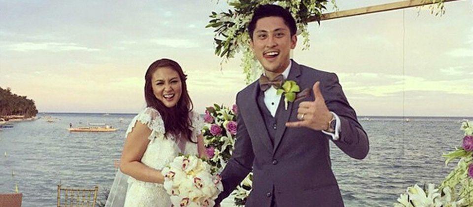 JUST MARRIED: Cesca Litton & Tyke Kalaw   Random Republika