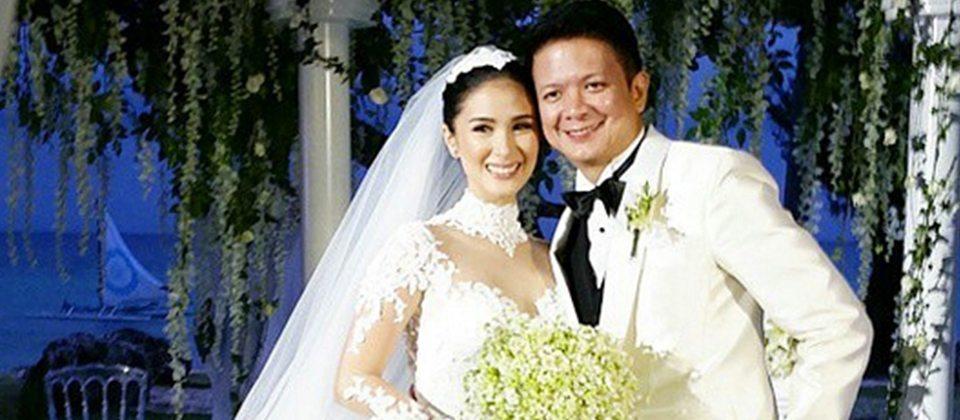 "bdb4de22664 The much-awaited celebrity wedding of Senator Francis ""Chiz"" Escudero and  Kapuso actress Heart Evangelista ..."