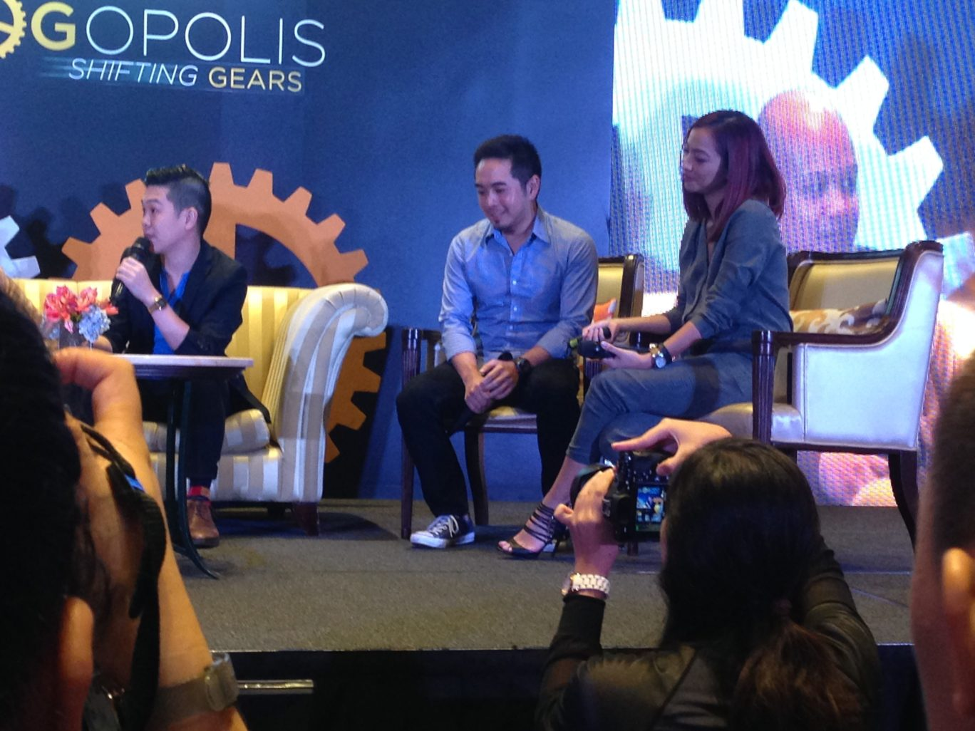I was also too attentive to Michael Josh Villanueva and Jackie Go that I failed to take photos during their talks. Michael Josh quit his job as a tech journalist to become  a full-time Youtuber while Jackie Go is an active mommy blogger.