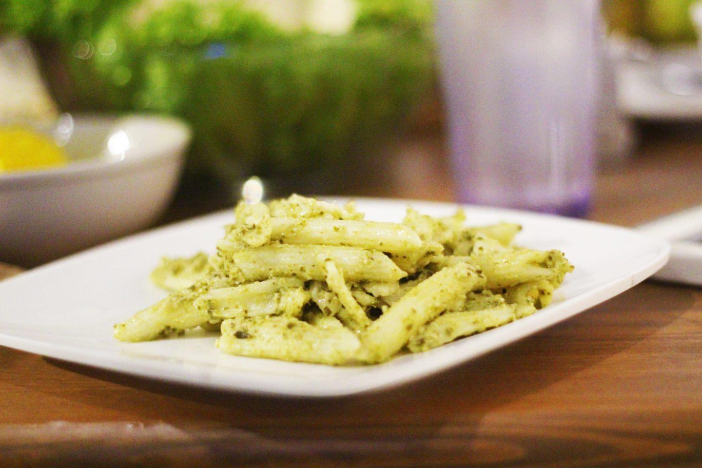 Pesto Pasta inspired by Jamie Oliver's Recipe