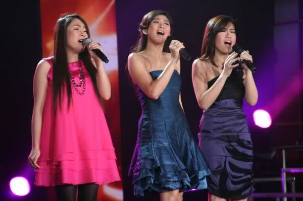 rachelle ann go asap with sarah geronimo and yeng constantino