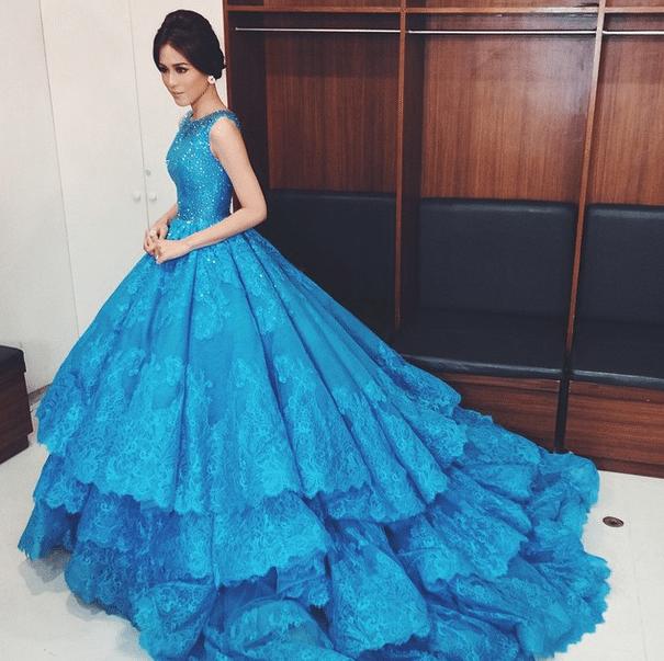 Toni Gonzaga Hosting Bb. Pilipinas 2015 Michael Cinco gowns