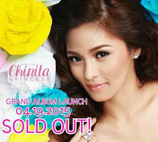 Kim Chiu Album Launch SOLD OUT Chinita Princess