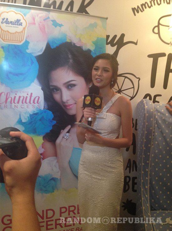 Kim Chiu Chinita Princess Mr. Right Vanilla Cupcake Bakery Xian Lim gerald anderson Maja Salvador Kimxi Album Press Conference Star Music 17