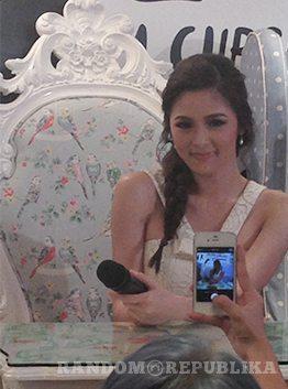 Kim Chiu Chinita Princess Mr. Right Vanilla Cupcake Bakery Xian Lim gerald anderson Maja Salvador Kimxi Album Press Conference Star Music 5