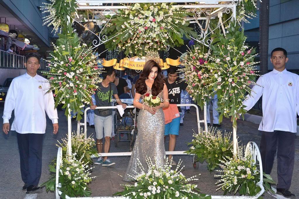 reyna emperatriz anne curtis flores de mayo