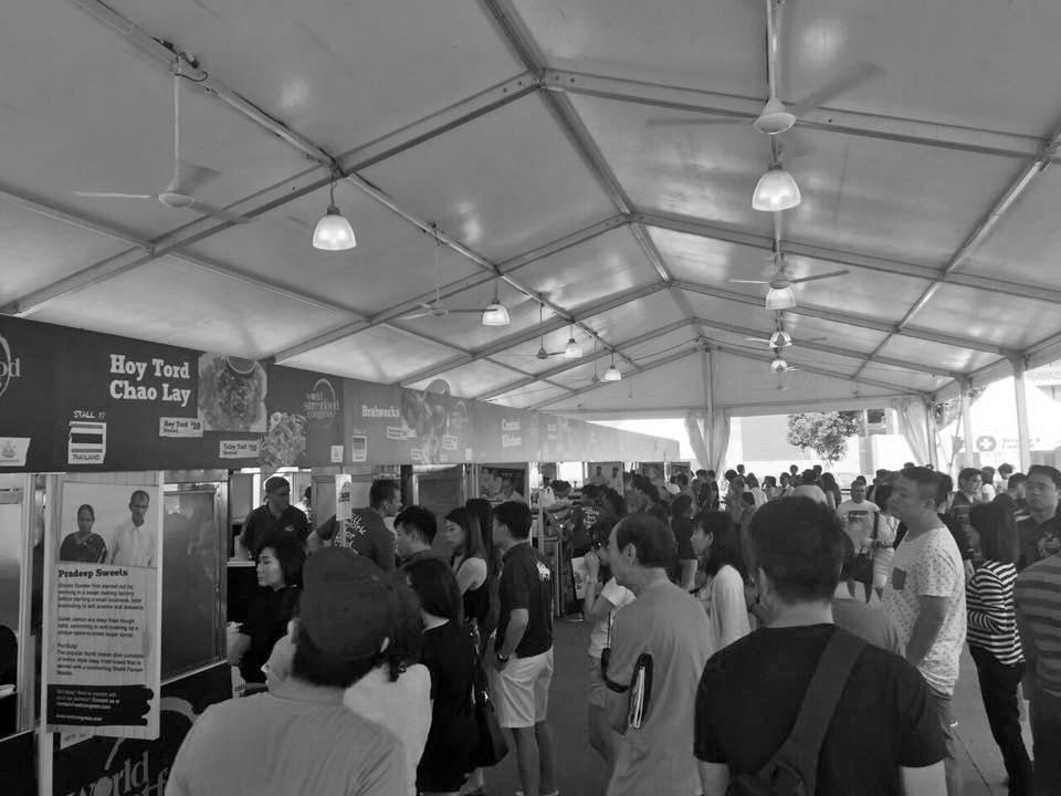 world streetfood congress singapore 2015 tents