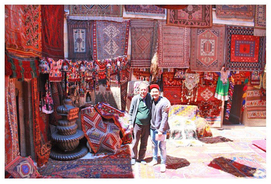 carpet kingdom in cappadocia turkey kilim store