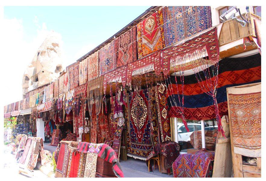 turkey rugs kilim and carpets in goreme cappadocia store