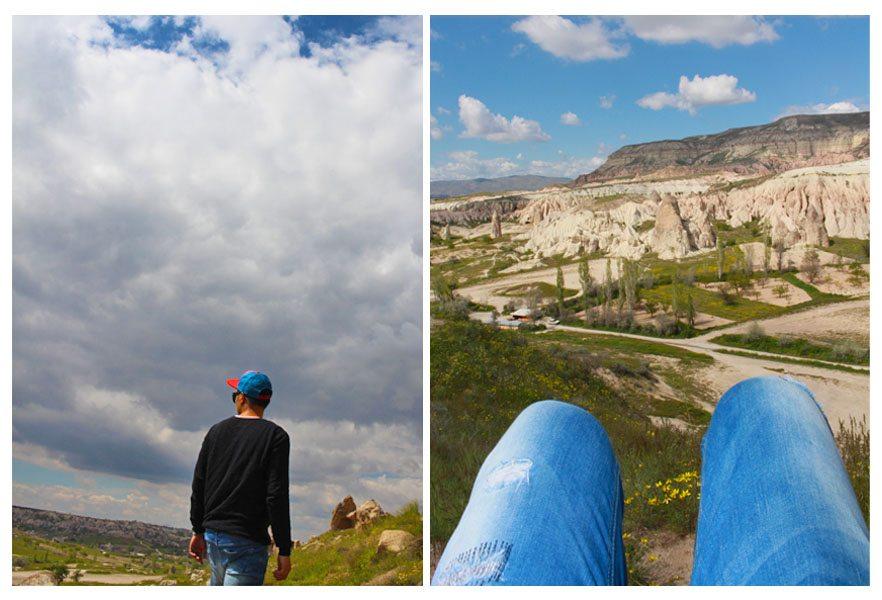sky cappadocia turkey trekking fashion