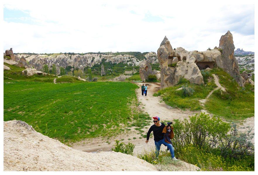 trekking red and rose valley in goreme cappadocia turkey