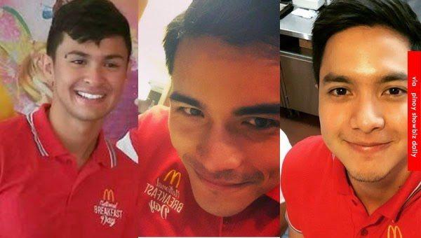 Matteo Guidicelli Alden Richards McDO McDonald's Xian Lim