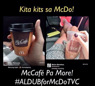 ALDUB for MCDO Tvc Yaya Dub Maine Mendoza Endorser Alden Richards