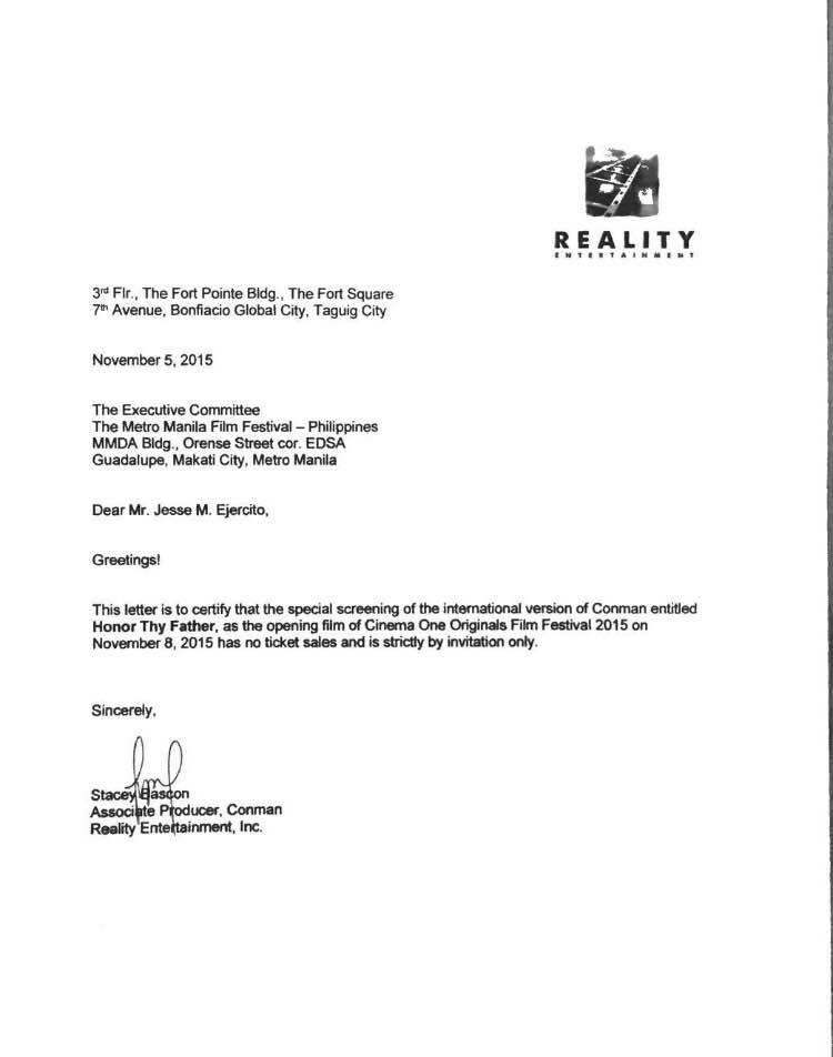 Honor Thy Father Disqualified Disqualification MMFF 2015 John Lloyd Cruz Dondon Monteverde Cinema One Originals 3