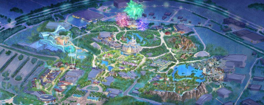 Shanghai Disneyland Shanghai Disney Resort China Opens on June 16, 2016 1
