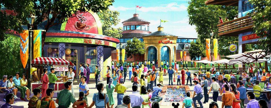 Shanghai Disneyland Shanghai Disney Resort China Opens on June 16, 2016 Disneytown