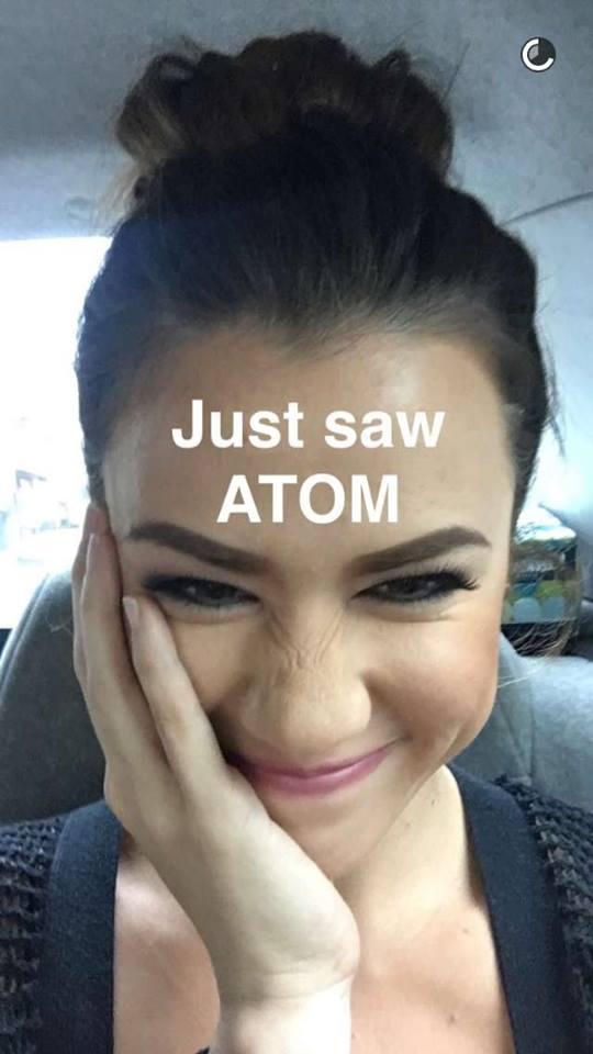 Valeen Montenegro Snapchat Atom Araullo 1