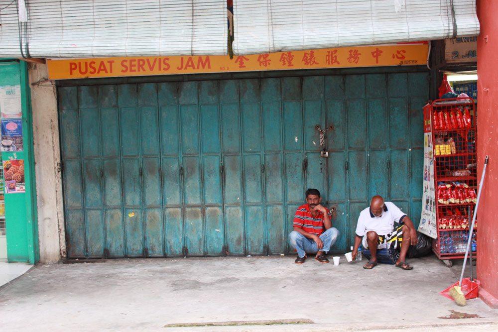 indians in johor bahru shop house malaysia