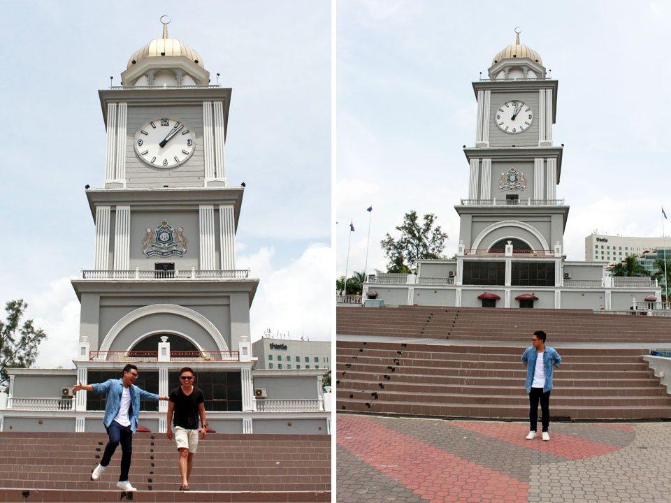 johor bahru clock tower malaysia