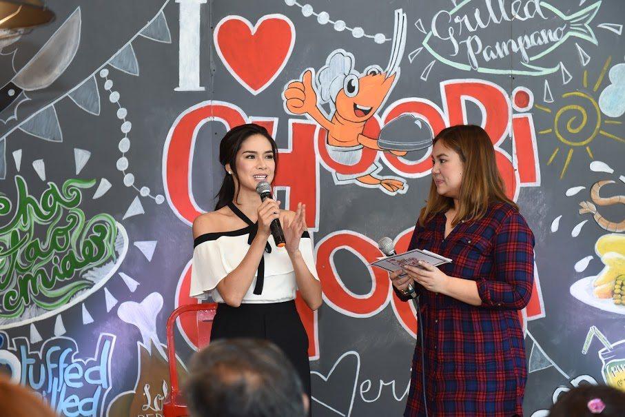 8 Erich Gonzales Endorses Choobi Choobi Seafood Restaurant Endorser Panay Avenue Diliman Quezon City Cebu Seafood