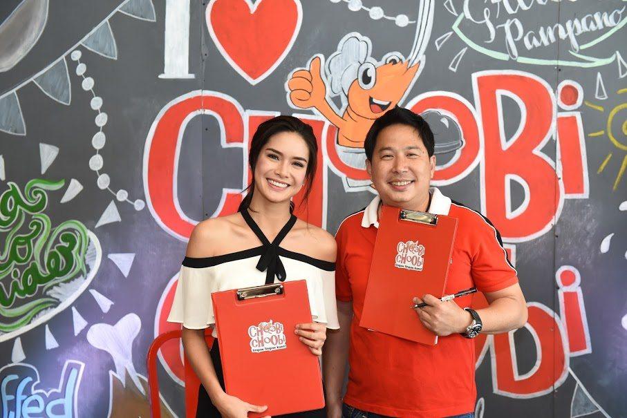 9 Erich Gonzales Endorses Choobi Choobi Seafood Restaurant Endorser Panay Avenue Diliman Quezon City Cebu Seafood
