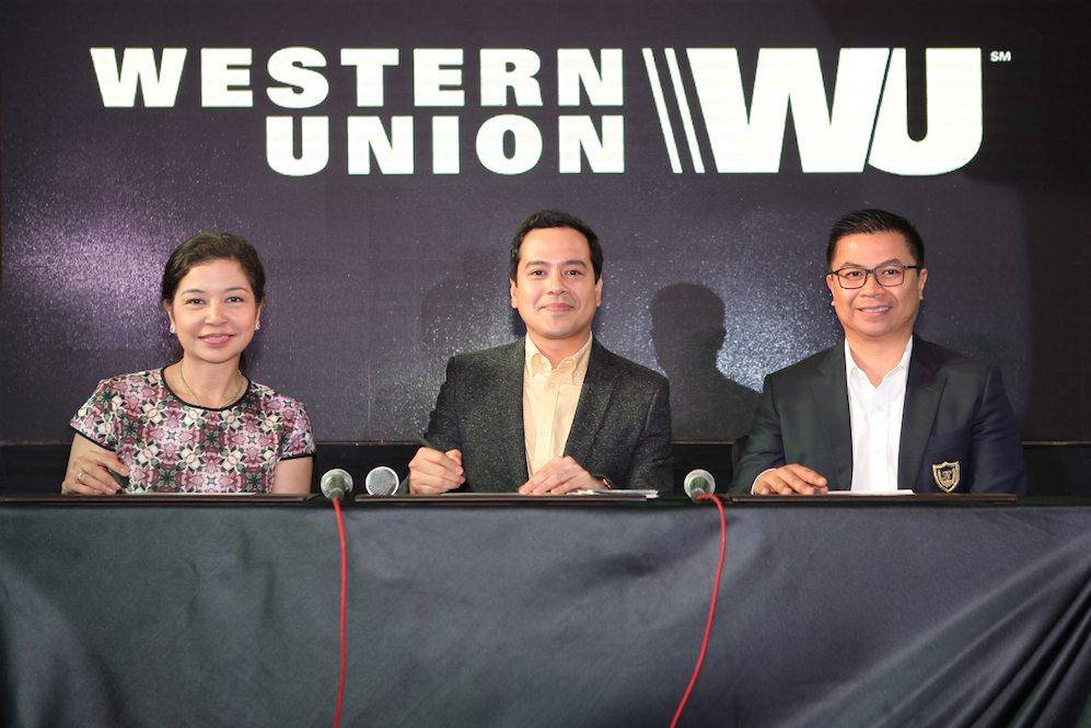 Contract Signing for John Lloyd Cruz new endorsement - Western Union copy