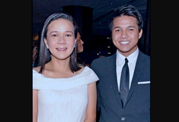 brian llamanzares and mother grace poe