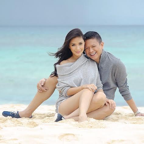 Chiz Escudero and wife Heart Evangelista