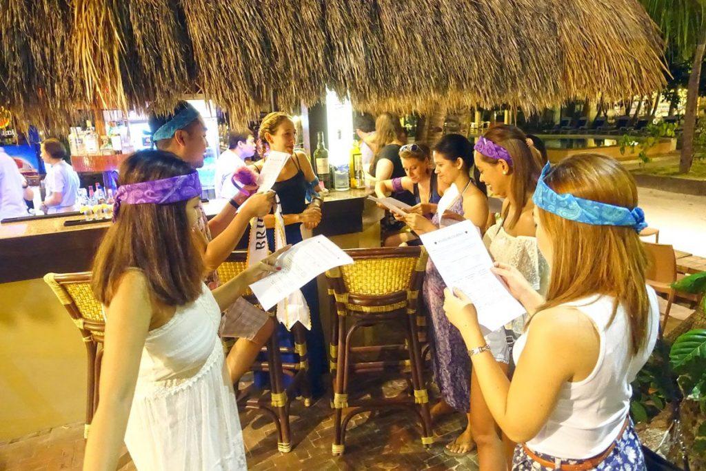 pub crawl bridal shower in boracay