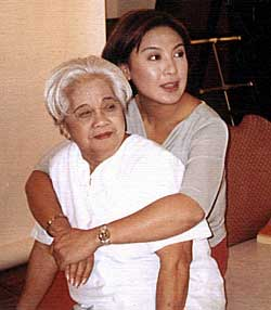 sharon cuneta and yaya luring