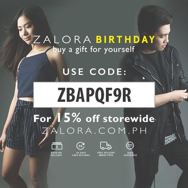 Zalora Discount Code: ZBAPQF9R