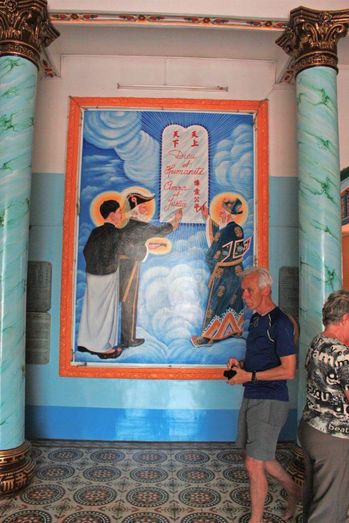 3 saints of cao dai temple