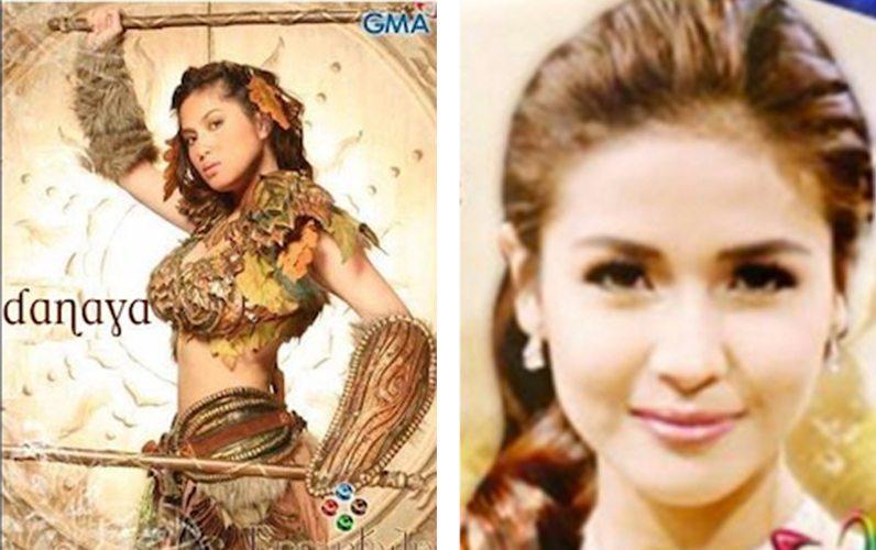 Encantadia 2016 Reveal GMA Sanggre Sang're 24 Oras DANAYA Diana ZUbiri Sanya Lopez