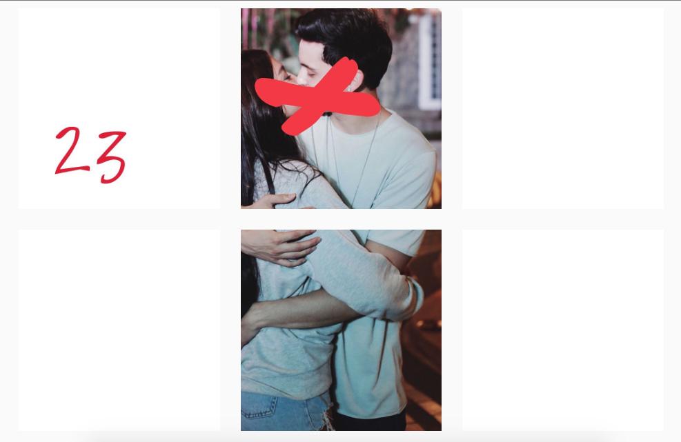 James Reid 1 Nadine Lustre JaDine High ON Love Kissing Photo Post Instagram